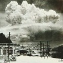 Nagasaki , 20 minutes after the atomic bombing in 1945.