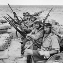 British SAS back from a three month long patrol of North Africa , January 18, 1943.