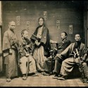Samurai taken between 1860 and 1880.